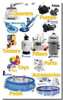 Swimming Pool Supplies - The best prices on swimming pool products
